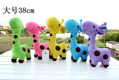 Sale Kid Giraffe Dear Soft Plush Toy  Little Baby Stuffed Animal Quality Doll