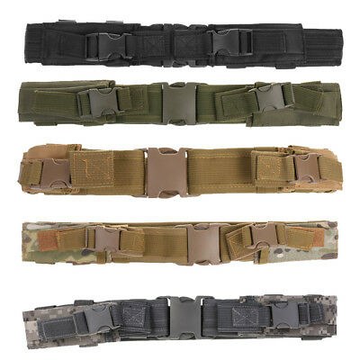 Adjustable Nylon Outdoor Tactical Utility Belt Combat Gear with Mag Pouches