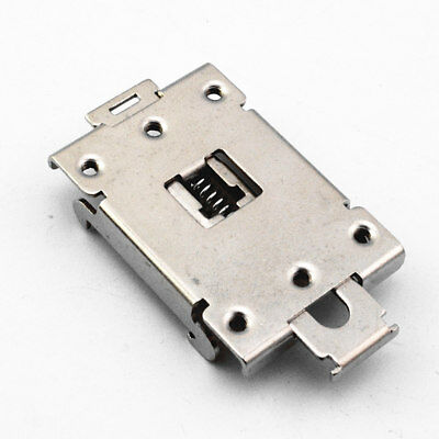 1pcs single phase SSR 35MM DIN rail fixed solid state relay clip clamp