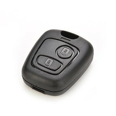 2 Buttons Remote Key Case Shell Cover Housing Fob for Peugeot 107 207 307 407