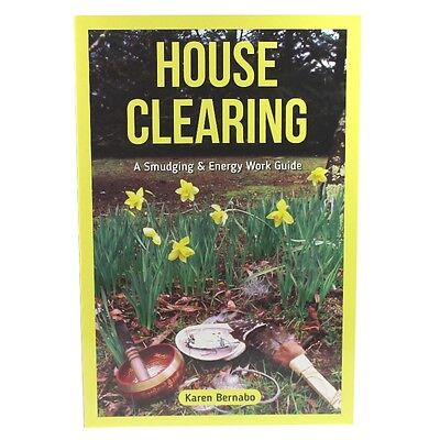Sage Home Cleanse Book Protection with FREE Abalone Shell-Smudging Sage KIT NEW
