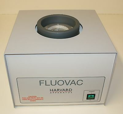 Harvard Apparatus FLUOVAC Veterinary Anaesthesia Unit & Consumables (New)