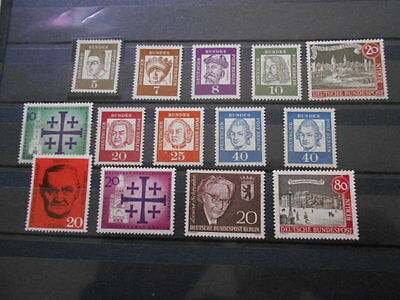 Lot De 14 Timbres Neuf Allemagne