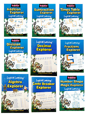 Logical Learning Maths Book - Educational Games - The Green Board Game Co.