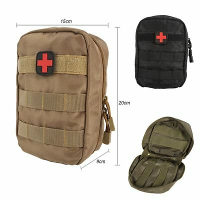 Tactical Medical First Aid Kit Bag Molle Medical EMT Cover Outdoor Emergency Mil