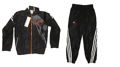 Adidas boys F50 woven tracksuit age 7-8, 9-10 or 11-12 years BNWT RRP £47.99