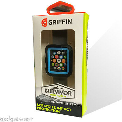 Griffin Survivor Tactical Tough Case for 42mm Apple Watch Series 1 -Dresden Blue