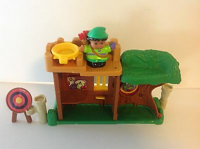 Fisher Price Little People Robin Hood and Fort