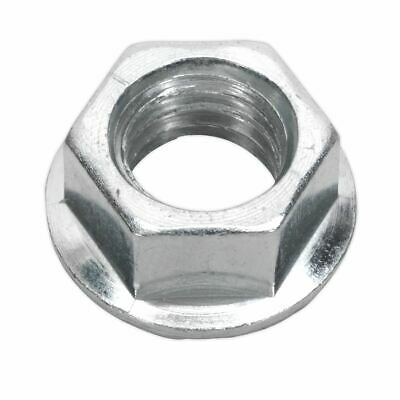 Sealey FN10 Flange Nut Serrated M10 Zinc DIN 6923 Pack of 100