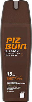 Piz Buin Allergy Sun Sensitive Skin Spray SPF15 (200ml)