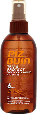Piz Buin Tan & Protect Oil Spray SPF 6 (150ml) *S*