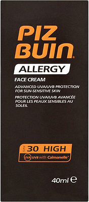 Piz Buin Allergy Sun Sensitive Skin Face Cream SPF30 (50ml)
