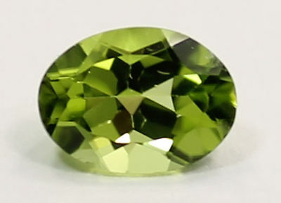 1.423 Ct. Lime Green Peridot Oval