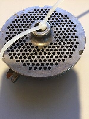 NEW #32 MEAT GRINDER PLATE & Knife NOT OEM