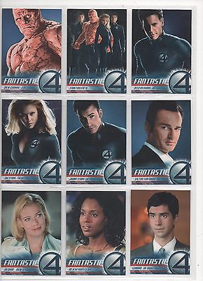 Upper Deck 2005 Fantastic Four Full 100 Card Base Set