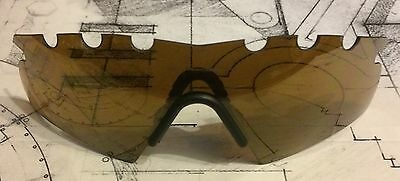 Authentic Oakley M-Frame New Hybrid Gold Iridium Vented Replacement Lens