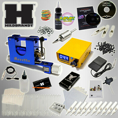 HILDBRANDT ROTARY 1 MACHINE TATTOO KIT Gun Machines Guns SET USA SELLER Pretuned