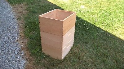 (3)Three Honey Bee Hive Boxes ( Unassembled ) ������