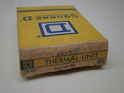 Square D AR30 Overload Relay Thermal Element Unit