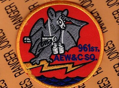 USAF AIR FORCE 961st AEW&C Squadron patch