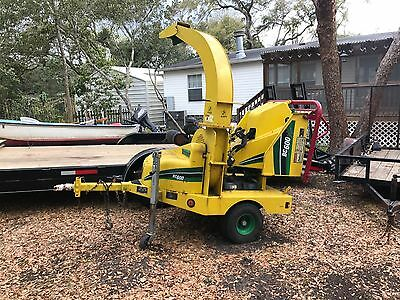 Vermeer BC600XL Wood Chipper With Only 450 Hours EXCELLENT CONDITION!