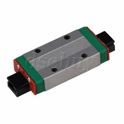 8mm Thick 40mm Length Extension Linear Guide Rail Sliding Block MGN9H