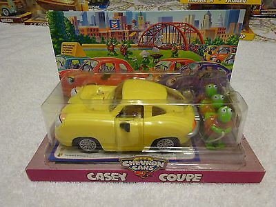 1999 Chevron Car Casey Coupe - with turtles- Sealed Package