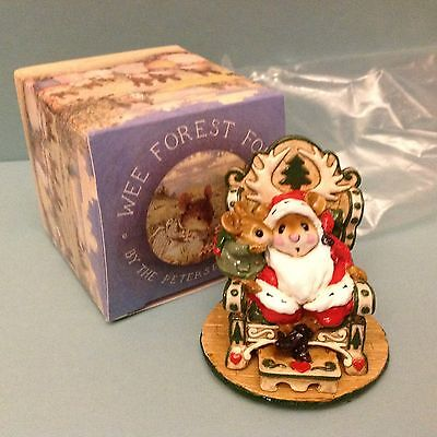 Wee Forest Folk, M-203 A Christmas Wish, 1995, New in Box