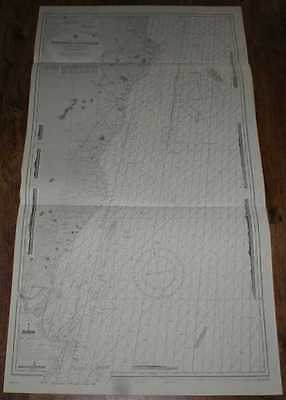 Nautical Chart No. L(D3)1787 Ireland - East Coast, Wexford to Wicklow 1974