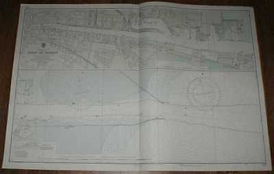 Nautical Chart No. 1447 Republic of Ireland - Port of Dublin 1973