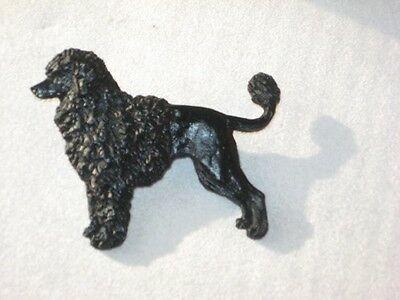 Portuguese Water  Dog  Handpainted Pin~Porty portie