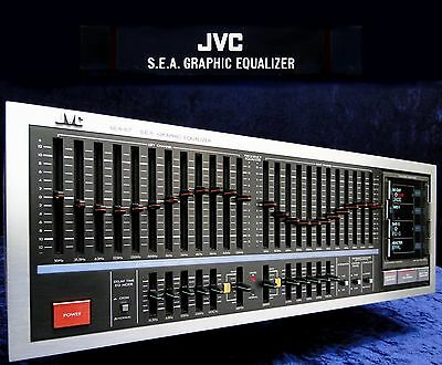 Vintage Equalizer JVC SEA-R7 2x12 Band Stereo EQ S.E.A. Sound Effect Amplifier