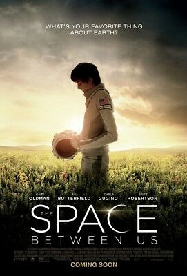 THE SPACE BETWEEN US MOVIE POSTER 2 Sided ORIGINAL 27x40 ASA BUTTERFIELD