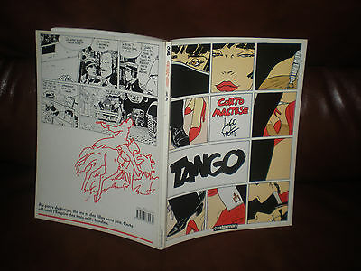 Corto Maltese - Tango - Reedition Brochee - Hugo Pratt