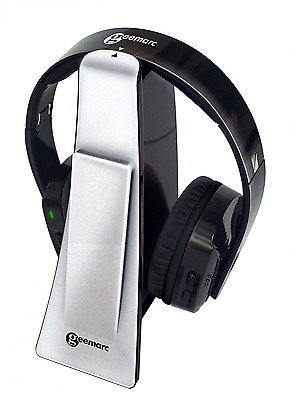 Geemarc CL7400 HIGHLY AMPLIFIED Wireless Digital Headset and TV Listener for TV,