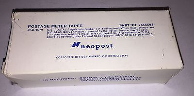 Neopost Postage Meter Tapes / #7456593 / Qty 300