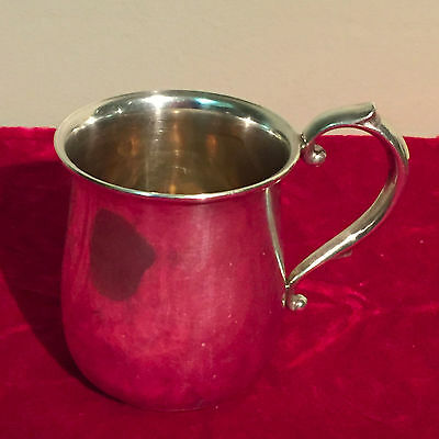 Sterling silver cup by Webster