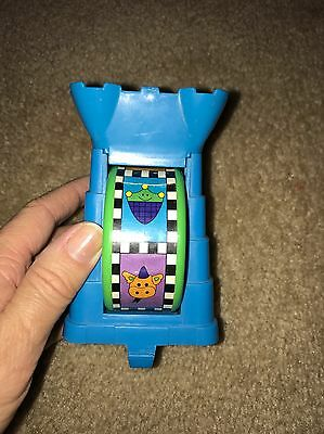Exersaucer Replacement Toy Royal Tower With Spinning Wheel.GUC!