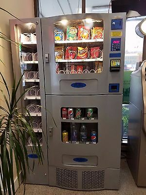 **Vending Machine** Office Combo - Deli & Soda & Snack & Water