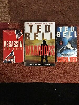 Ted Bell - Lot of 3 - Thrillers  (Free Shipping)