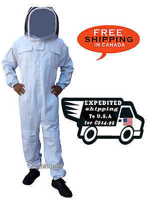 Professional Quality PolyCotton Beekeeping Beekeeper Suit - 3XL