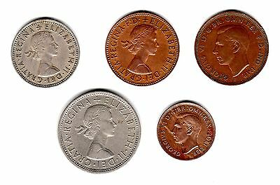 coins UK Great Britain misc coins (C4)