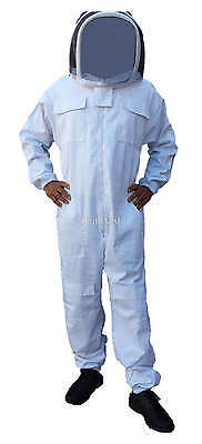 Professional Quality Beekeeping Bee Suit Leather Gloves Bundle - Large