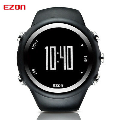EZON GPS Running Watch Calorie Counter Fitness Sport Watch Water Resistant 50m