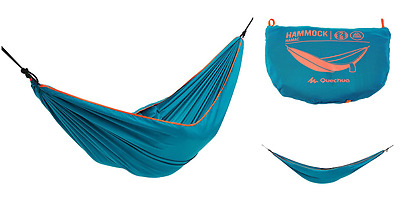 2017 Quechua Prevent rollover Hammock Compact Camping Hiking Sleeping Everywhere