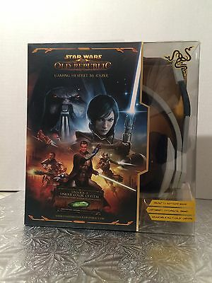 Razer Star Wars Old Republic Headsets Comes With Star Wars Old Republic PC Game