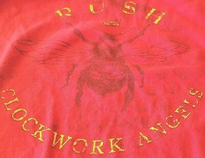RUSH Clockwork Angels 2012 North American Tour Size Large L shirt