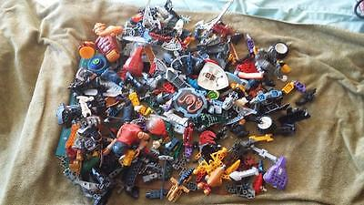 Lego Bionicles Bulk Lot.toys,kids,house,garden,playtime,party,tools,education.