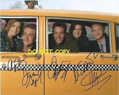 How I Met Your Mother - Hand Signed With Coa - All 5 Main Cast Autographed Photo