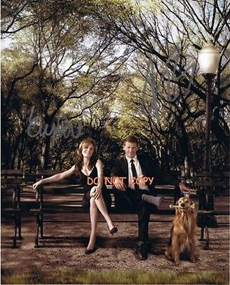 Bones - Hand Signed With Coa - David And Emily - Autographed 8X10 Photo